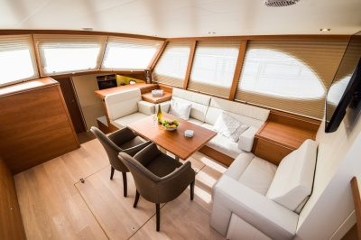 Super Lauwersmeer bouwt volledig customized Discovery 45 AC