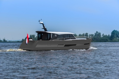 Nog meer vaarcomfort Discovery-serie dankzij innovatieve Hull Vane®