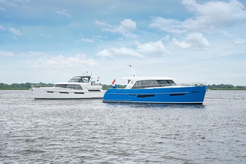 Super Lauwersmeer in ihrem Jubiläumsjahr mit Topmodellen auf der HISWA